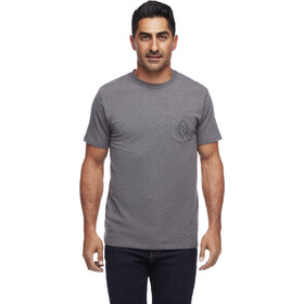 Black Diamond Rays Pocket T-Shirt Herren charcoal heather